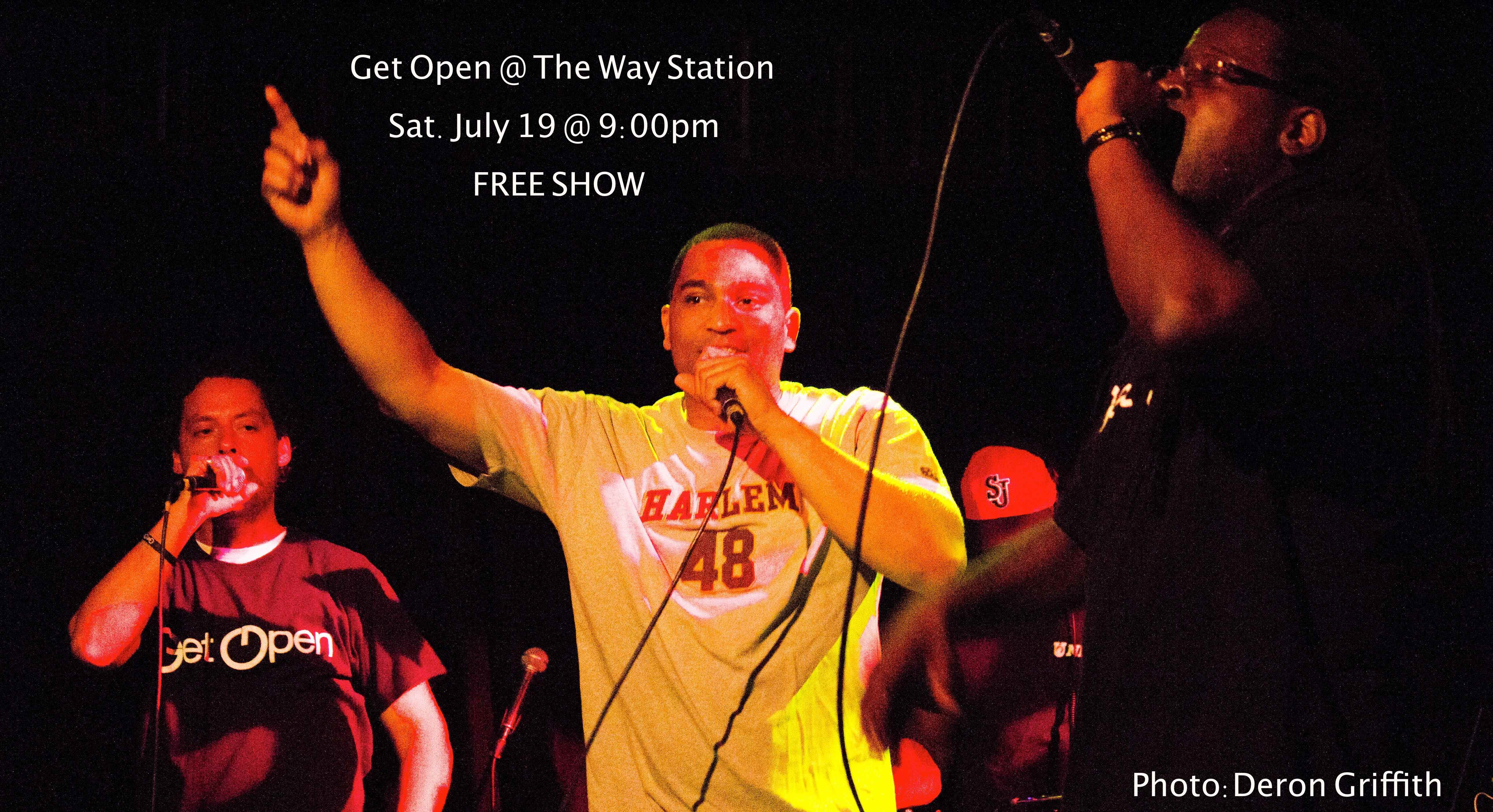 Get Open @TheWayStation